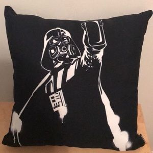 New Darth Vader throw pillow